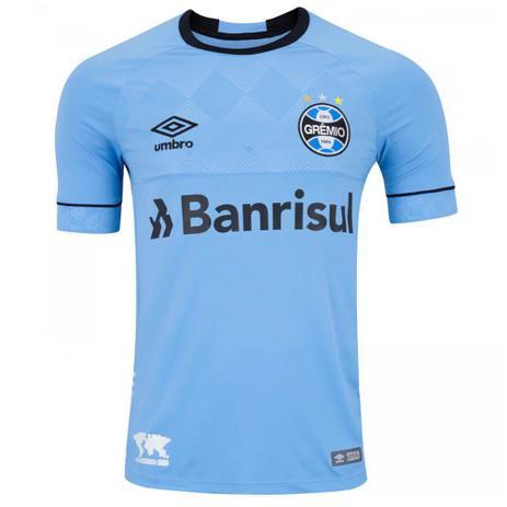 Imagem de Camisa Umbro Grêmio Oficial Charrua 2018 (Fan) Masculina - Azul
