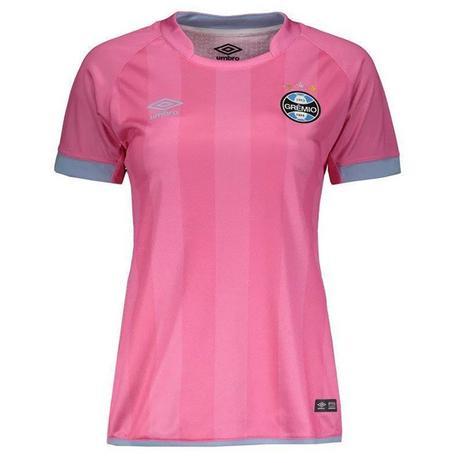 Camisa Umbro Grêmio Outubro Rosa 17 18 Feminina - Vestuário ... 6fcef21bf0d