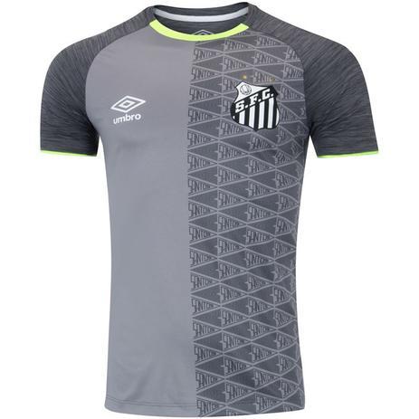 1c077c3297 Camisa Umbro Santos Aquecimento 2018 Masculina - Vestuário Esportivo ...