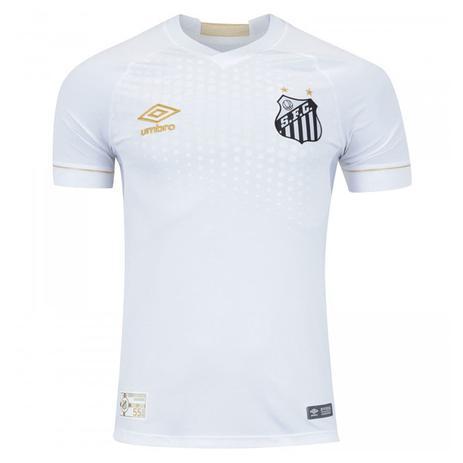 cf3fa984d6 Camisa Umbro Santos I 2018 Torcedor Masculina - Vestuário Esportivo ...