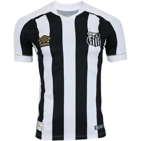 3278a8fdbd Camisa Umbro Santos Oficial II 2018 Infantil - Camisa de Time ...