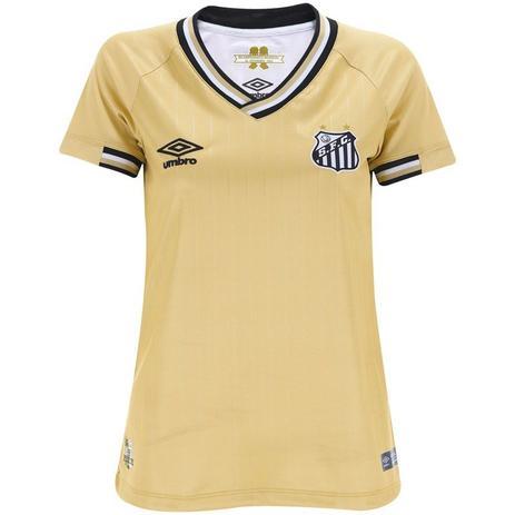 192dc216bc Camisa Umbro Santos Oficial III 2018 Feminina - Camisa de Time ...