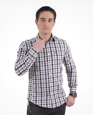 9744fd9ee2 Camisa Xadrez Masculina Super Slim Social - Hórus oficial ...