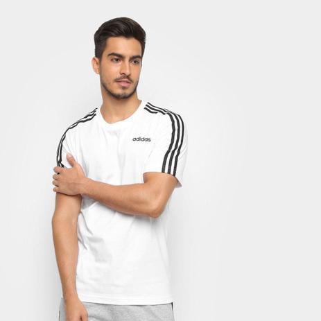 Menor preço em Camiseta Adidas Essentials 3-Stripes Masculina