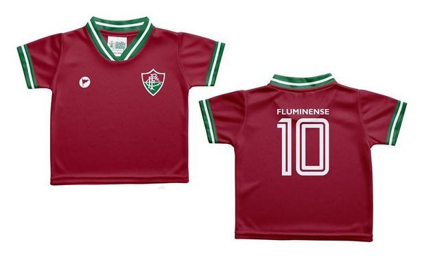 8240da7a42c2a Camiseta Bebê Fluminense Grená - Torcida Baby - Camiseta e Blusa ...