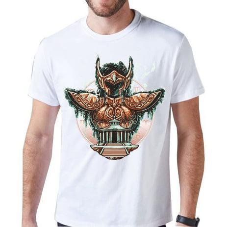 Imagem de Camiseta Cavaleiros Dos Zodíacos Blusa CDZ Camisa Aquario