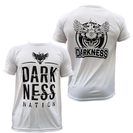 Camiseta darkeness nation - branca - integralmedica - Integral medica a5a36c875f3e7