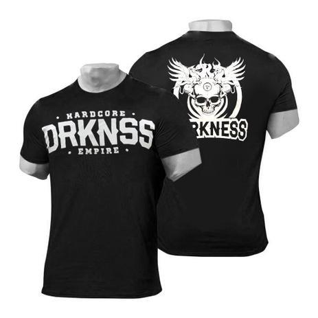 06e8b5059e718 Camiseta Darkness Hardcore Empire Dry Fit Fitness - Preta - Integral medica