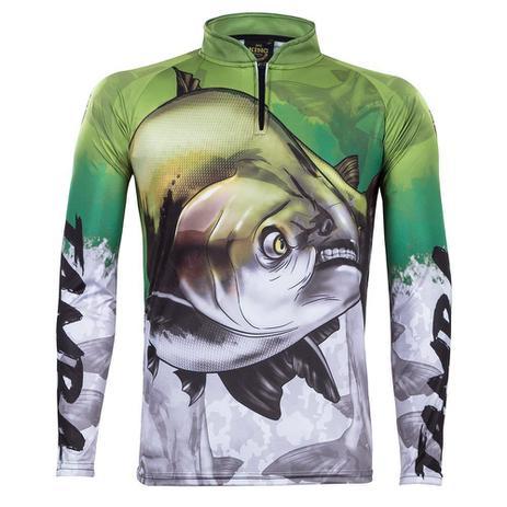 Camiseta de Pesca Atack 05 King com Proteção Solar - King brasil ... b5e6b82a44bcb