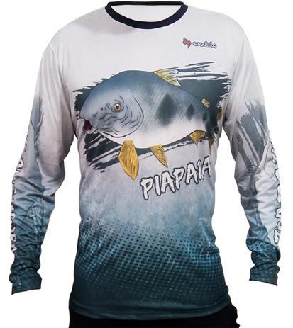 e6c036675 Camiseta de Pesca By Aventura Piapara - Blazer e Jaqueta Feminina ...