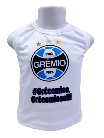 Imagem de Camiseta Infantil Grêmio Regata Oficial