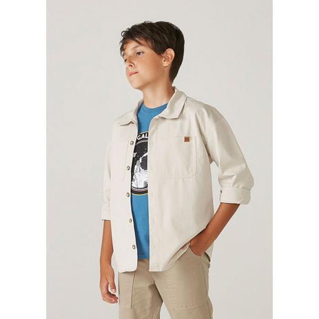 Imagem de Camiseta Infantil Menino Manga Curta Com Paetê Reversível