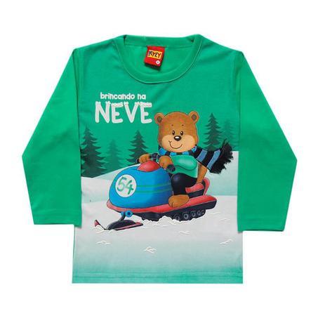 c35b9e3de8 Camiseta infantil menino manga longa - Kyly - Camiseta e Blusa ...