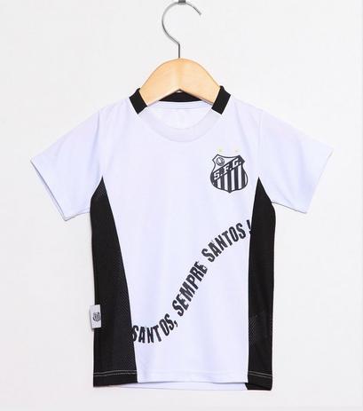 aecced09de00d Camiseta Infantil Santos Sempre Santos Oficial - Revedor - Camiseta ...