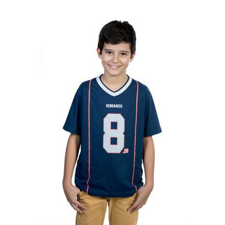Camiseta Juvenil Romanos 8 dbbe09ad5babf