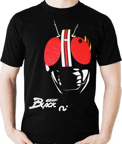 Imagem de Camiseta Kamen Rider Black Tokusatsu Nerd Geek Camisa Blusa