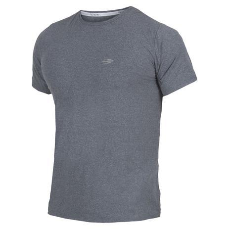 c589332ad Camiseta Manga Curta Mescla Masculino UV Dry Flex CINZA - Mormaii ...