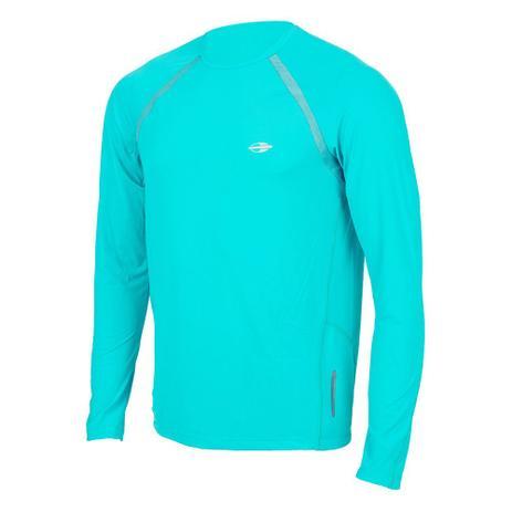 Camiseta Manga Longa Masculino UV Dry Flex VERDE - Mormaii - Camisa ... 72a892963bdb9