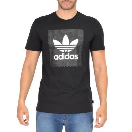 Camiseta Masculina Blackbird Warp Tee - Adidas Preto - Camisa de ... 5dc9f03b2d9