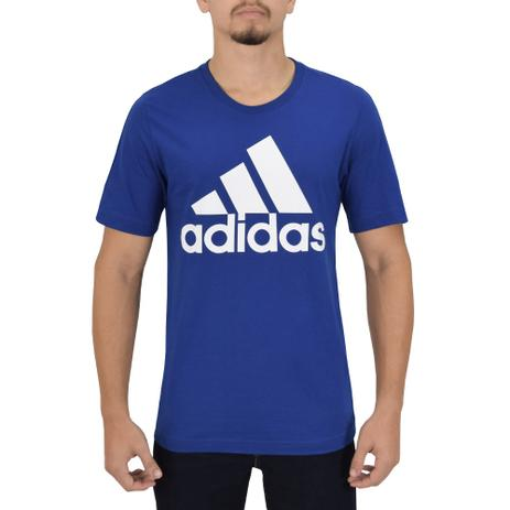 4d53714d01438 Camiseta Masculina Essentials - Azul - Adidas Azul - Camisa de ...