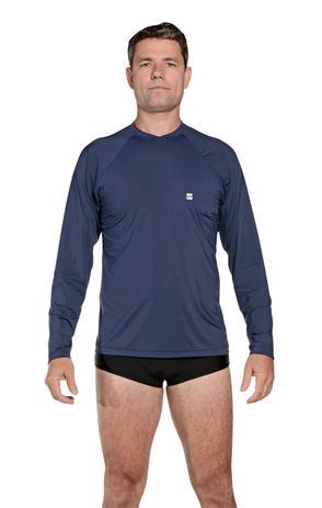 Camiseta Masculina Uv Praia Azul Marinho - Stewardess - Camisa ... 76141d1c8ce