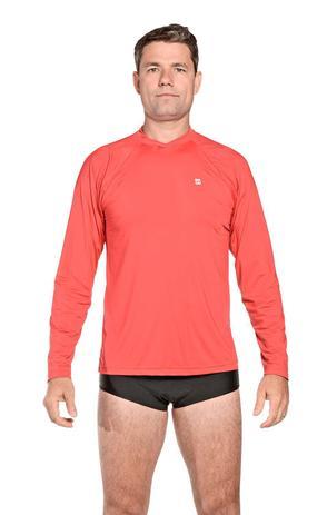 Camiseta Masculina Uv Praia Vermelha - Stewardess - Camisa Térmica ... f7bcd5934b3