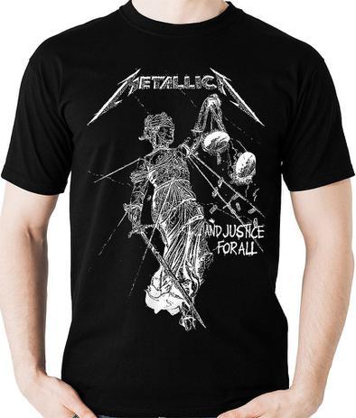 ea8afe994fe64 Camiseta Metallica Justice For All Camisa (banda Rock) Blusa ...