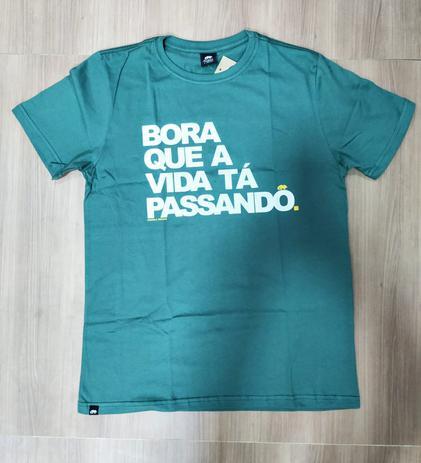 Imagem de Camiseta Ondas e Trilhas Despojada B Bora Masculino Ad 2320