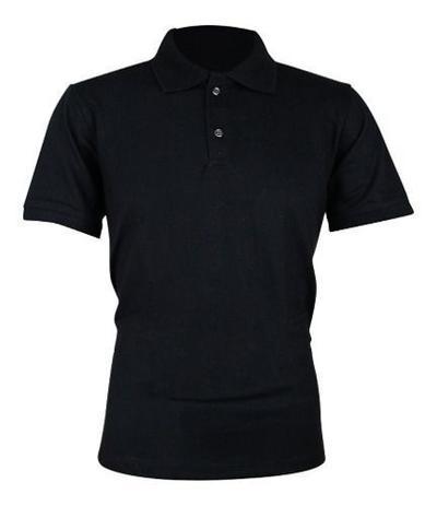 Imagem de Camiseta Polo Preta