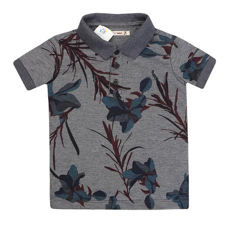 Camiseta Polo Reserva Mini Floral Lirios - Roupas de Bebê - Magazine ... 51285a9bf83fc