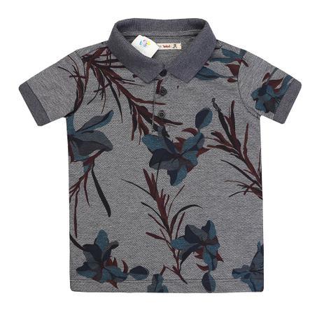 fa361d4f87 Camiseta Polo Reserva Mini Floral Lirios - Roupas de Bebê - Magazine ...