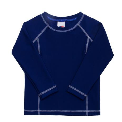 47bfed9ad Camiseta Praia Manga Longa Azul 4 ao 16- FPS 50+ - Tip top ...