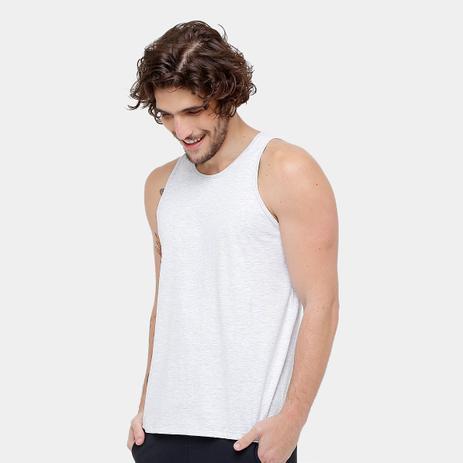 Camiseta Regata Básica Masculina kohmar- Cinza Mescla- 101 - Regata ... 7ae13160734