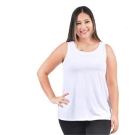 Imagem de Camiseta Regata Plus Size Feminina 1000077565 Malwee Wee