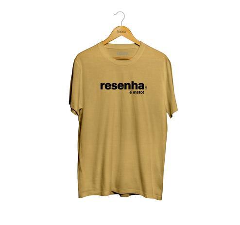 Imagem de Camiseta Resenha É Mato Marrom Masculina