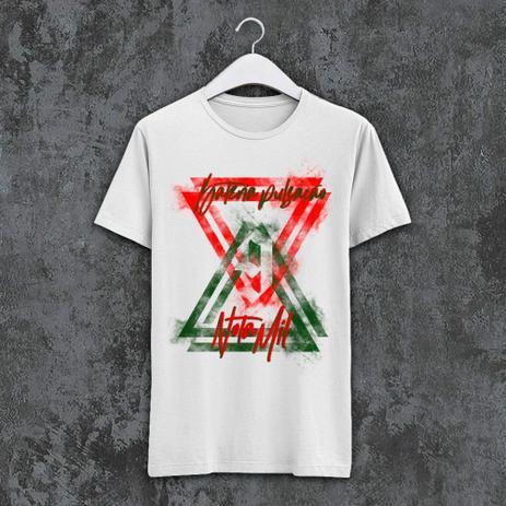 Imagem de Camiseta X9 Paulistana - PN1000 verde e vermelha