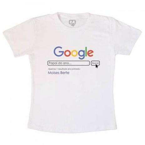 Imagem de Camisetas Google - Pai do Ano
