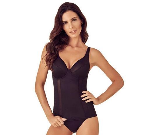 Imagem de Camisete cinta modeladora feminina com compressão Liebe  -