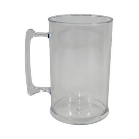 33ae5af36 Caneca de chopp 500 ml transparente para personalizar - 10 unidades - Fabi  brindes