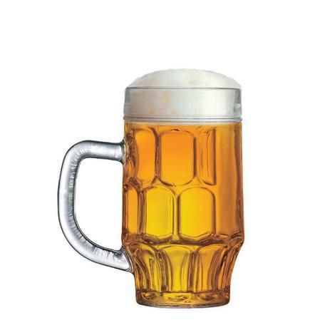 Imagem de Caneca de Chopp de Vidro ou Cerveja Maltz 500ml