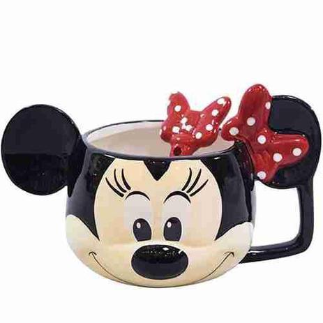 ec3c31bdeb885b Caneca De Porcelana Rosto Minnie 280ml - Disney
