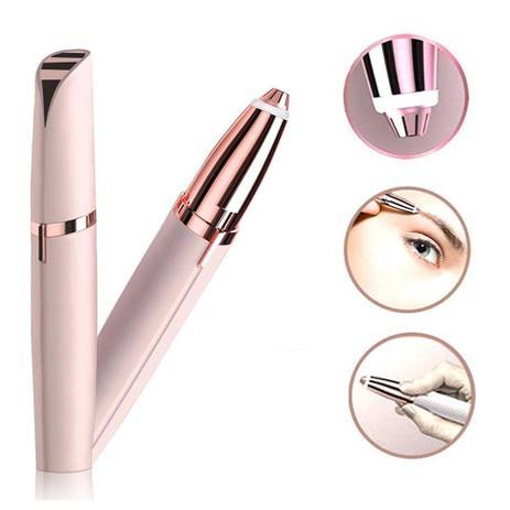 Imagem de Caneta Depilador Aparador de Sobrancelha Indolor USB