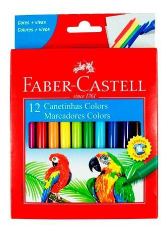 Imagem de Canetinhas Colors 12 cores Faber Castell