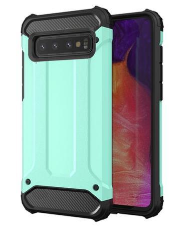 Imagem de Capa anti-impacto Hybrid Rugged para Samsung Galaxy S10 Plus - Verde menta