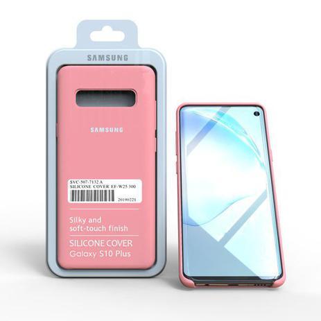 Imagem de Capa Aveludada Silicone Samsung S10 Plus