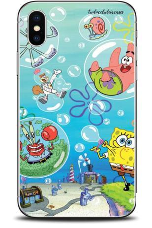 Imagem de Capa Capinha Pers Samsung XCover Pro Bob Esponja Cd 1509