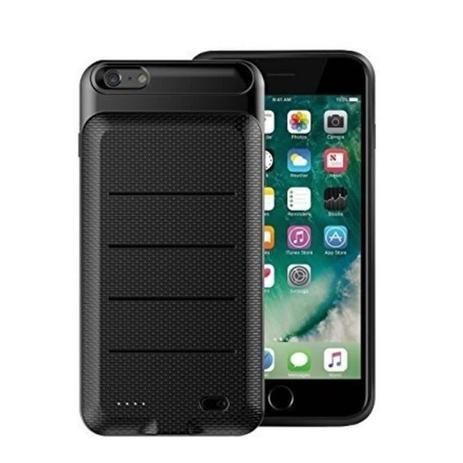 Imagem de Capa Carregadora Iphone 7/8 Plus Tela de 5.5 Pol Power Bank Carregador portátil 3.650mah Baseus Backpack