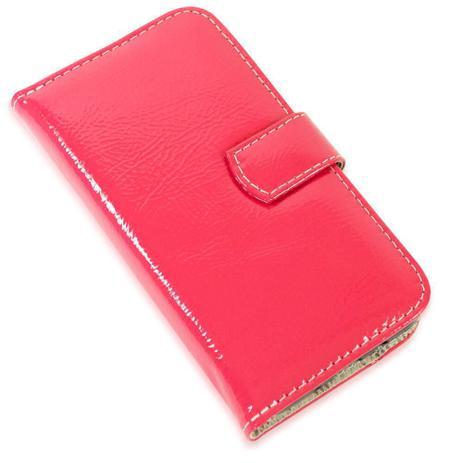 Imagem de Capa carteira couro verniz pink samsung j7 prime g610