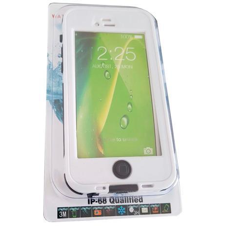 224a5132572 Capa Case À Prova Dágua Poeira Iphone 6 e Iphone 6S Branca - Willhq ...