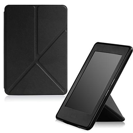 7f2d1e6cc3ad5 Capa Case Kindle Voyage WB Auto Liga Desliga - Origami Preta - Capa ...